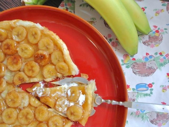 Banános Tarte Tatin