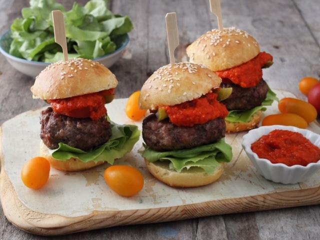 Mini partihamburgerek