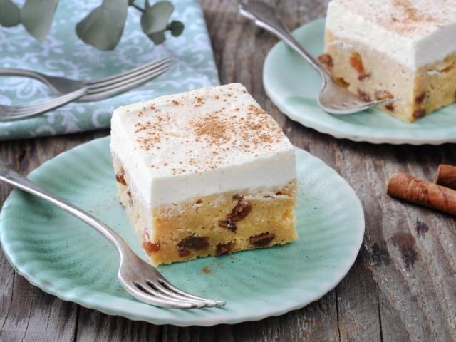 Almaszószos süti