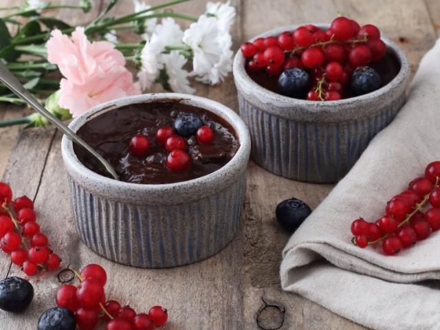 Házi csokipuding