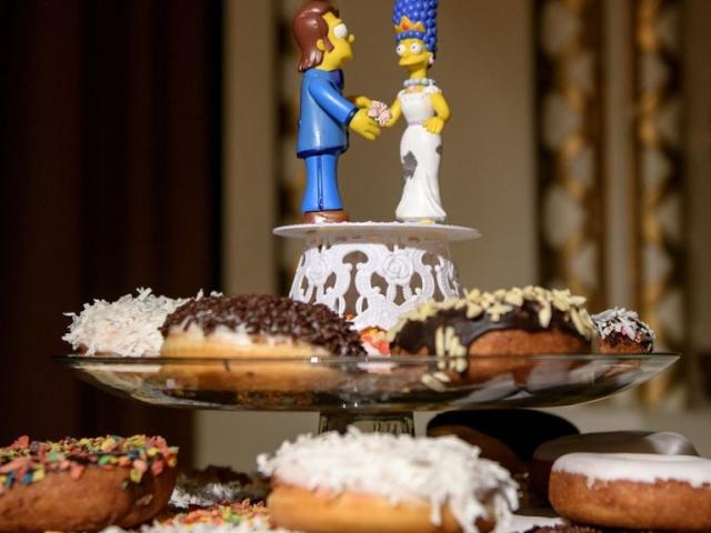 Nem mindennapi esküvői torta