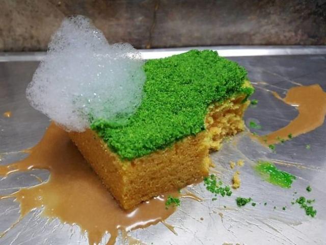 Egy cukrász élethű desszertjei