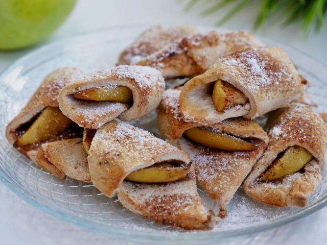 Almás pite falatok