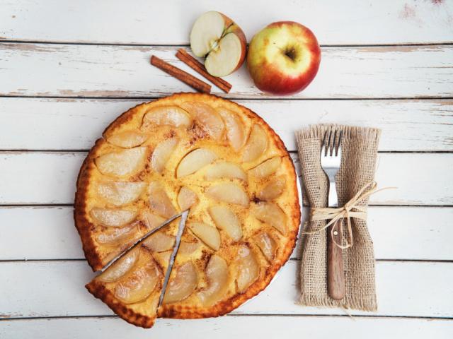 Tegyünk cukkinit az almás pitébe