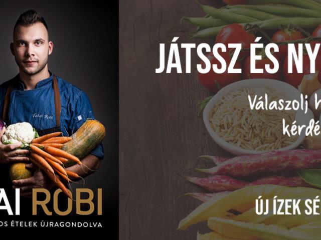 Tatai Robi: dunai csuka brokkoli textúrával - Nyerd meg a recepttel Tatai Robi szakácskönyvét!