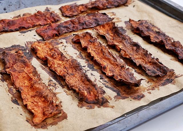 Vegán bacon