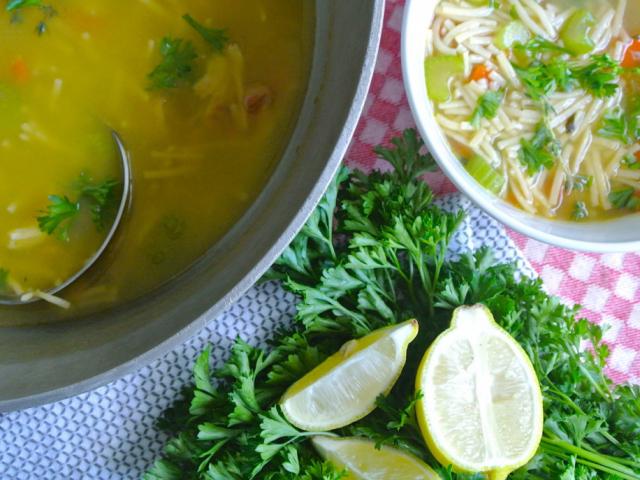 A chicken noodle soup, vagyis csirkés tésztaleves