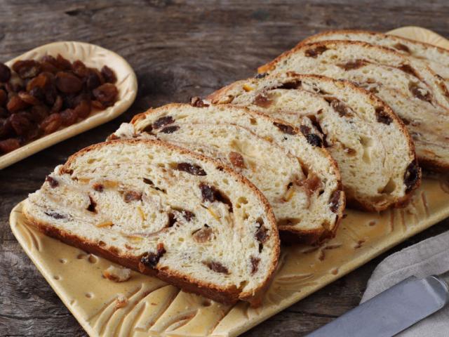 Fahéjas-mazsolás kenyér