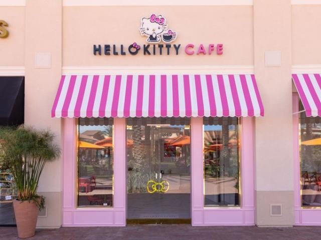 Hello Kitty Café nyílt Amerikában