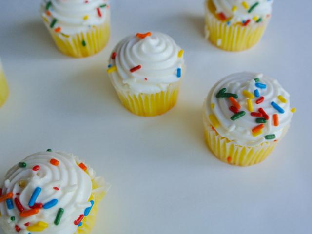 Vaníliás cupcake, mert szeretem