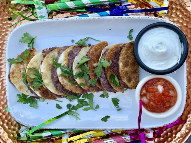 Mini babos taco szilveszterre