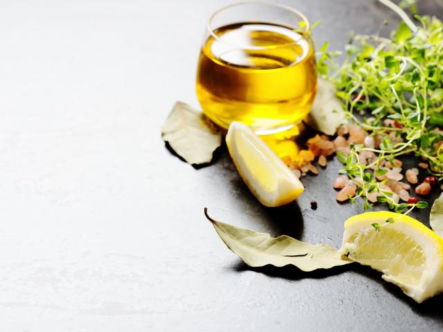 Tuti páros: citromlé és olívaolaj