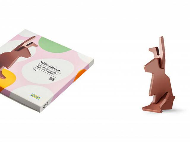 Összeszerelhető csokinyúl – nézzétek, mivel készül az Ikea húsvétra!