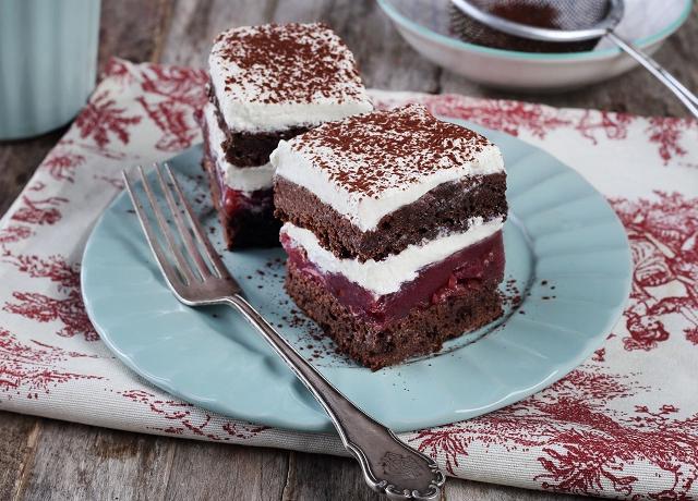 Fekete-erdő süti