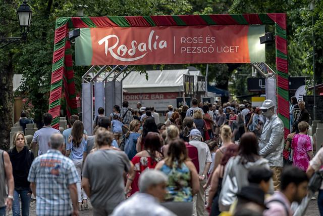 Jön a 8. Rosalia Fesztivál! Szeretitek a rosét? És a pezsgőt? Akkor jövő hétvégén a Városligetben a helyetek!