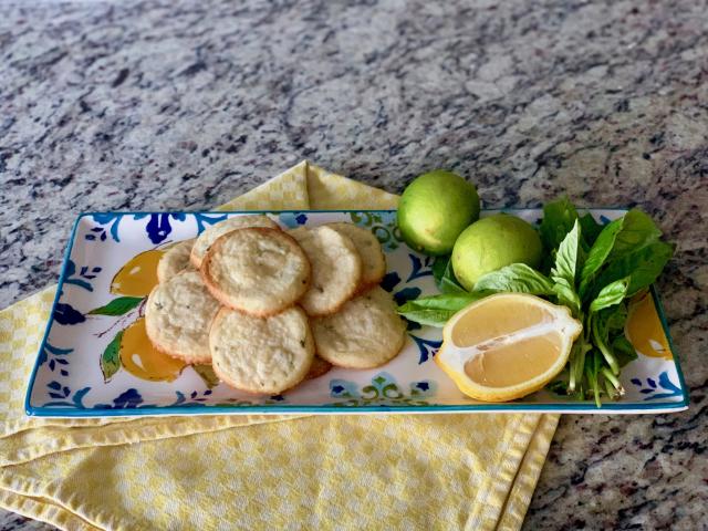 Omlós keksz citrommal és lime-mal