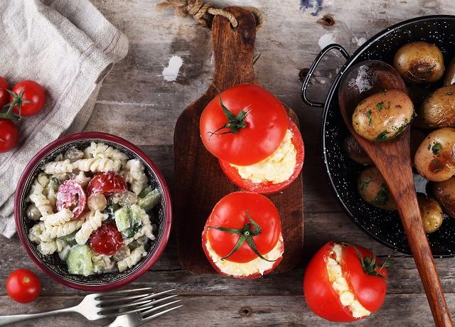 3 nyári köret – a tésztás, az újkrumplis és a paradicsomos