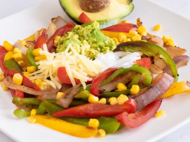 Fajitas saláta