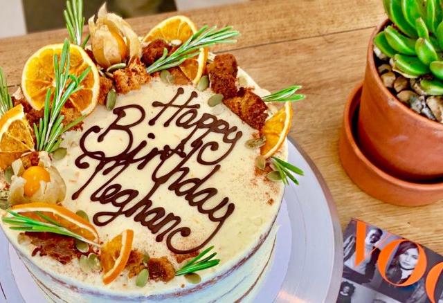 Ilyen volt Meghan Markle születésnapi tortája