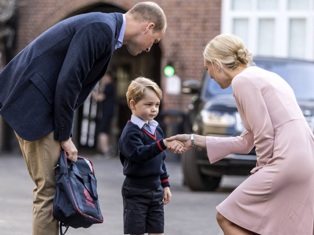 Ilyen György herceg iskolai ebédje