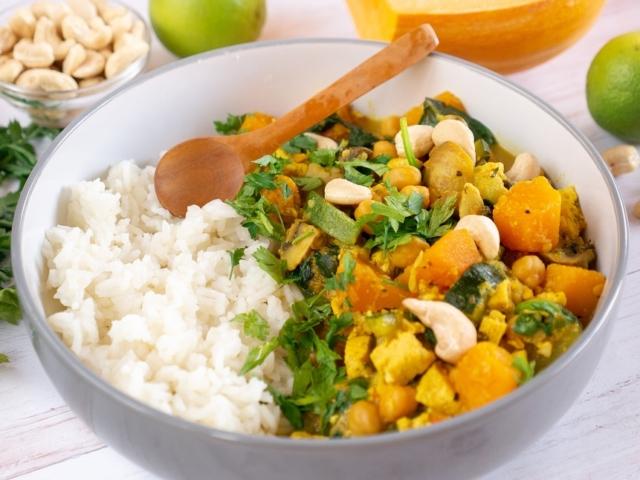 Sütőtök curry