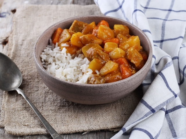 Curry japán stílusban