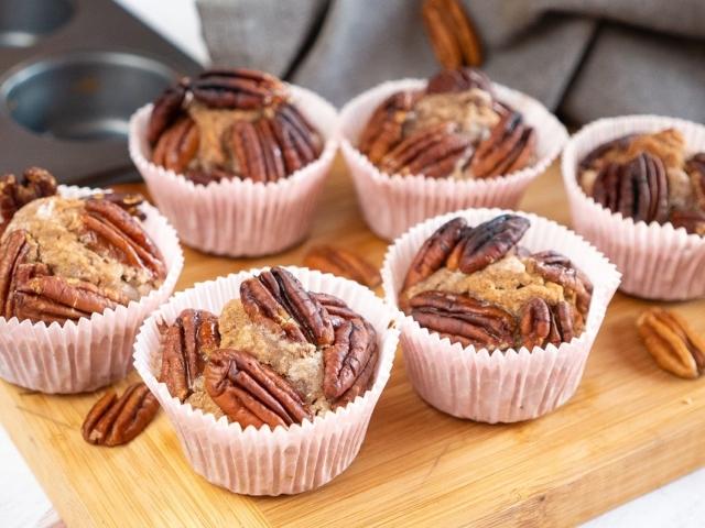 Pekándiós muffin