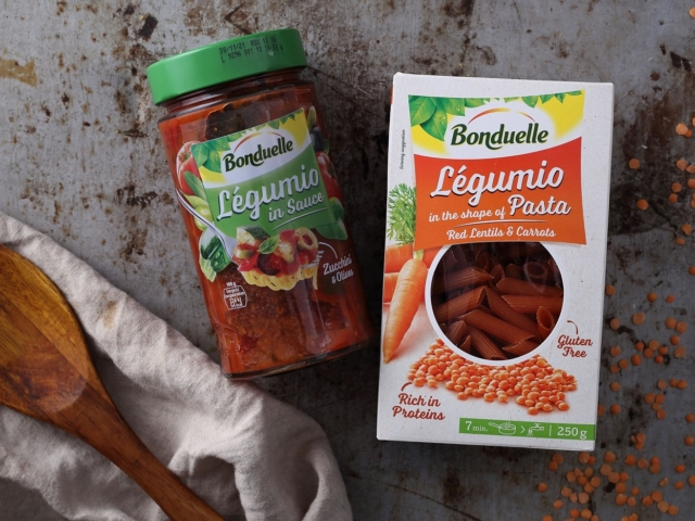 Bonduelle Légumio: zöldségek és hüvelyesek új formában