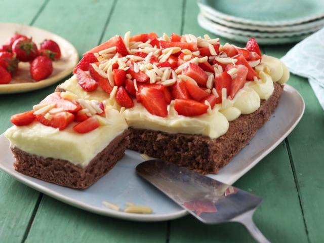 Epres-vaníliás sütemény