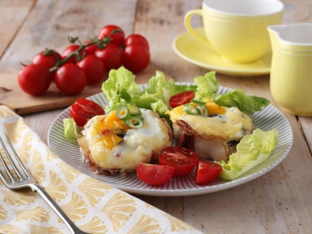 Reggeli tojásmuffin