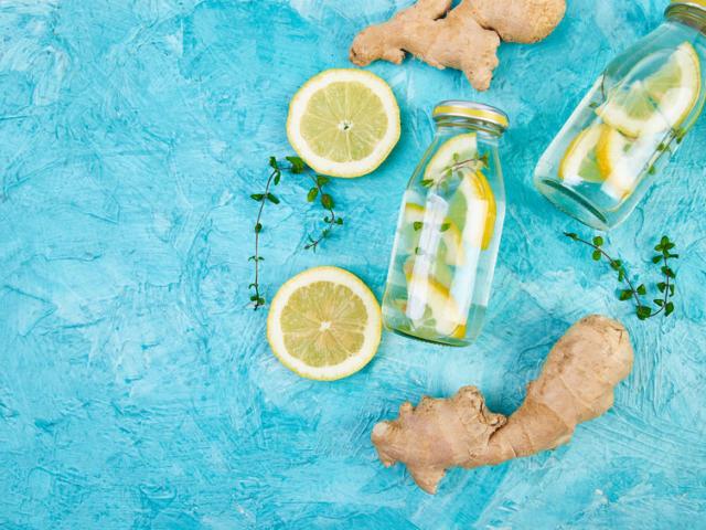 Nyáron cseréld le a gyömbérteát gyömbérrel ízesített vízre!