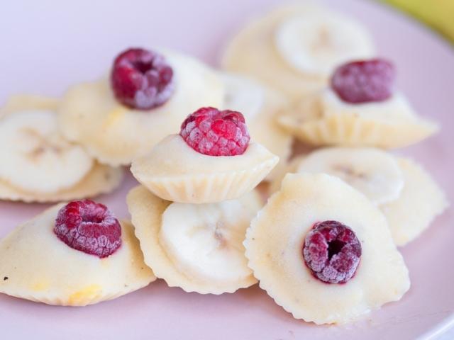 Mangós banánfagyi falatok