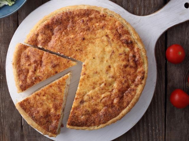 Túrós-szalonnás pite