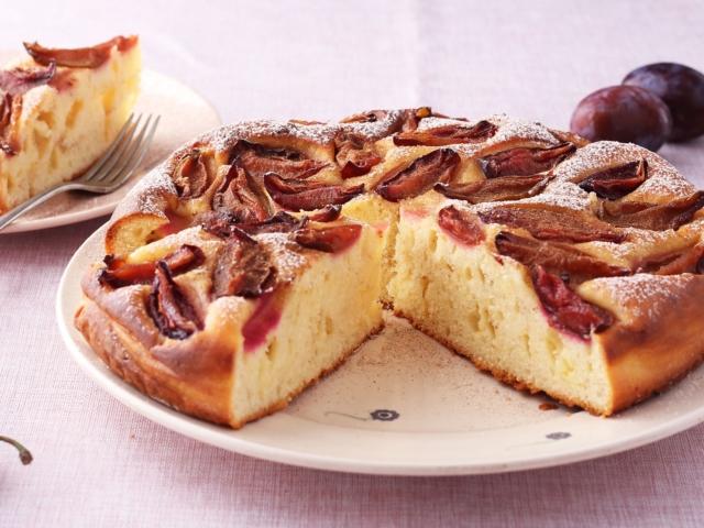 Szilvás-fahéjas pite