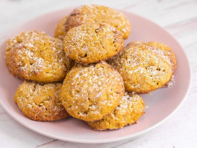 Sütőtökös pöfeteg keksz