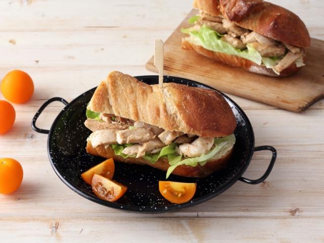 Csirkés szendvics