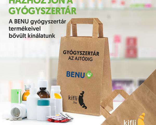 Bővülnek a Kifli.hu szolgáltatásai: már gyógyszert is rendelhetsz