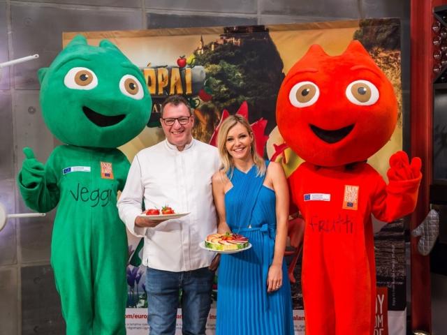 Idén is folytatódnak Frutti és Veggi kalandjai – Európai Friss Csapat néven keresd