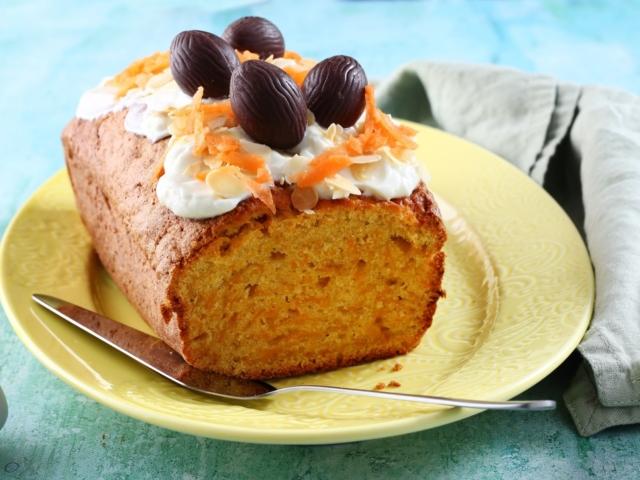 Fahéjas-sárgarépás sütemény