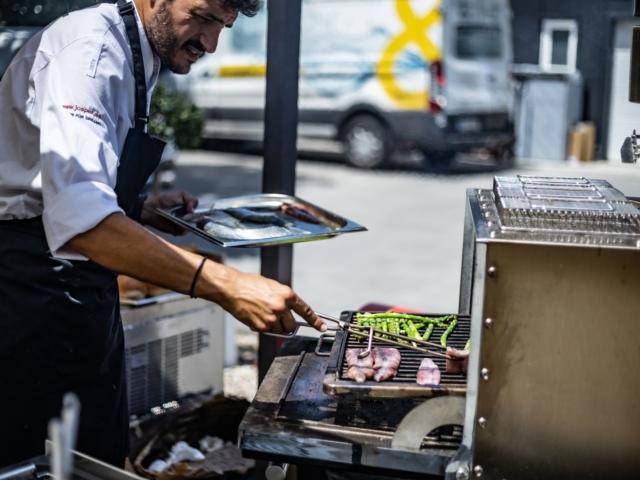 Budapestre látogattak a Josper nemzetközi grillmesterei